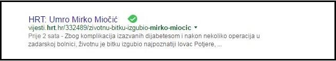 MIOČIĆ, HRT 111