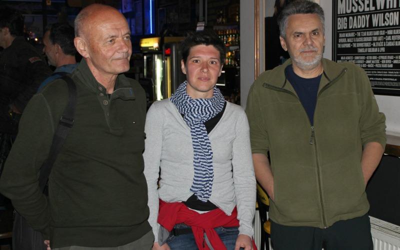 Branko Šeparović, Iris Bostjančić i Darko Berljak
