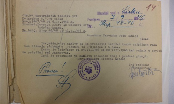 jasenovac, dokument
