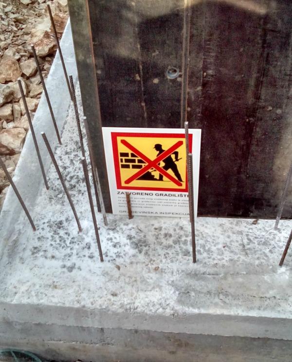 jelsa, zabrana radova