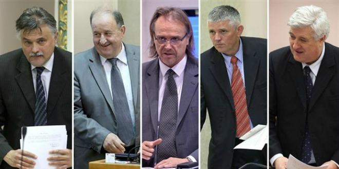 pet zastupnika, spojka