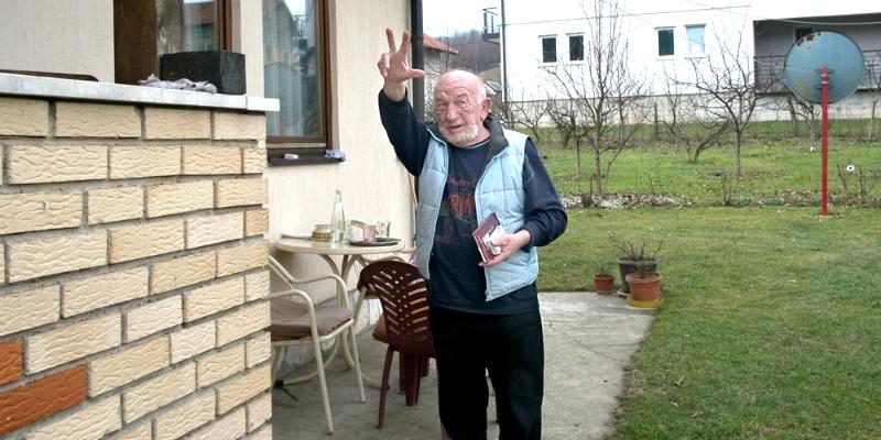 vojislav čaratić, tri prsta