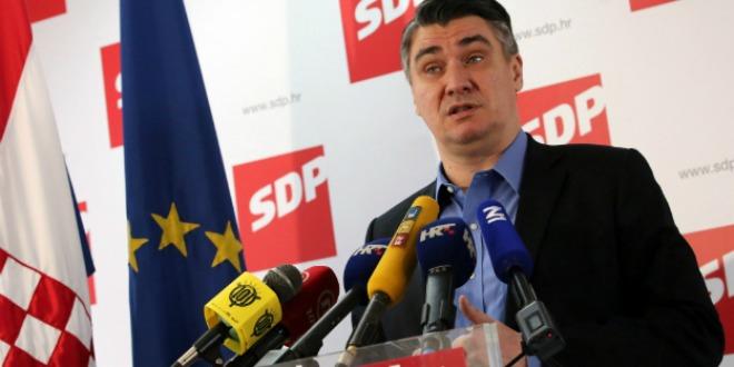 Zoran Milanović, sdp, press