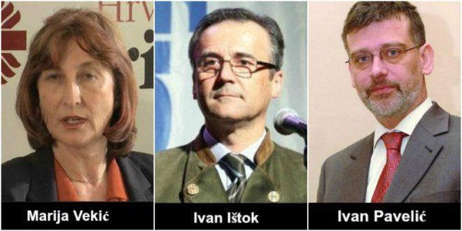 Marija vekić, Ivan Ištok. Ivan Pavelić