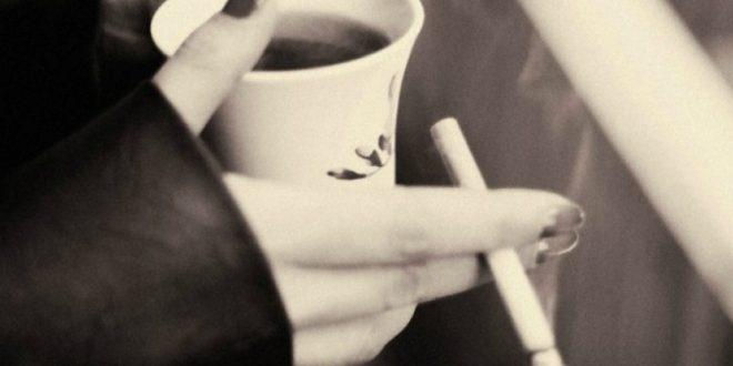 cigarete, kava