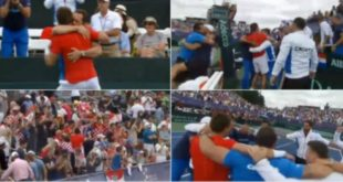 tenisači slave