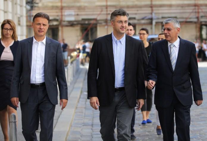 Izaslanstvo HDZ-a predvoðeno predsjednikom Andrejem Plenkoviæem