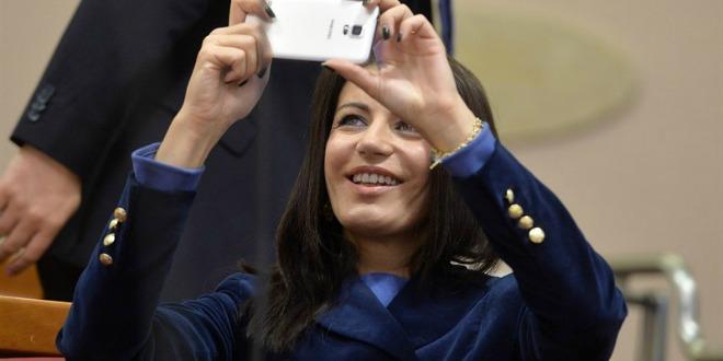 josipa rimac, sabor, selfie