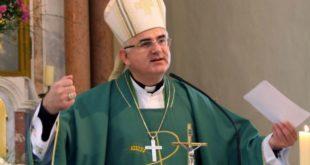 mate uzinić, biskup