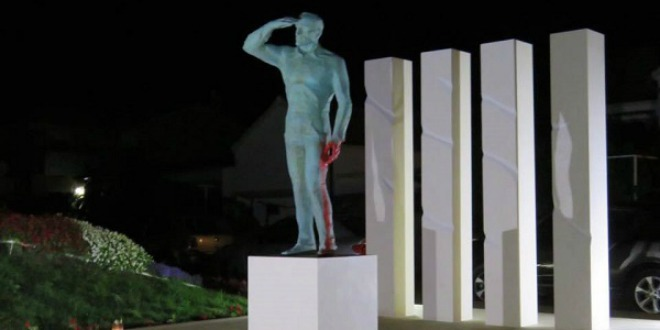 miro barešić, spomenik, antifa