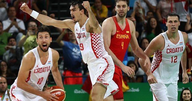 Croatia v Spain Men's Basketball - Olympics: Day 2