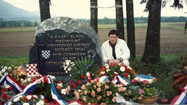 Michael Palaich u Bleiburgu u 1989.