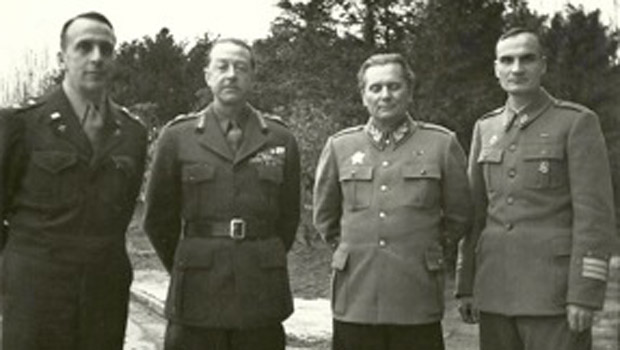Marshall Alexander i ratni zločinac Josip Broz Tito