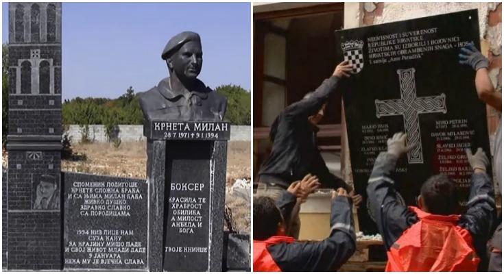 HOS-ovci su od Vlade tražili da ukloni 39 četničkih spomenika u Hrvatskoj
