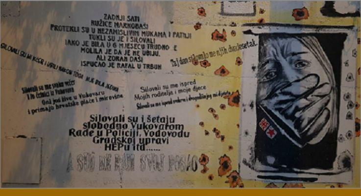 Spli ani upozoravaju silovali su a danas slobodno for Mural u vukovarskoj ulici