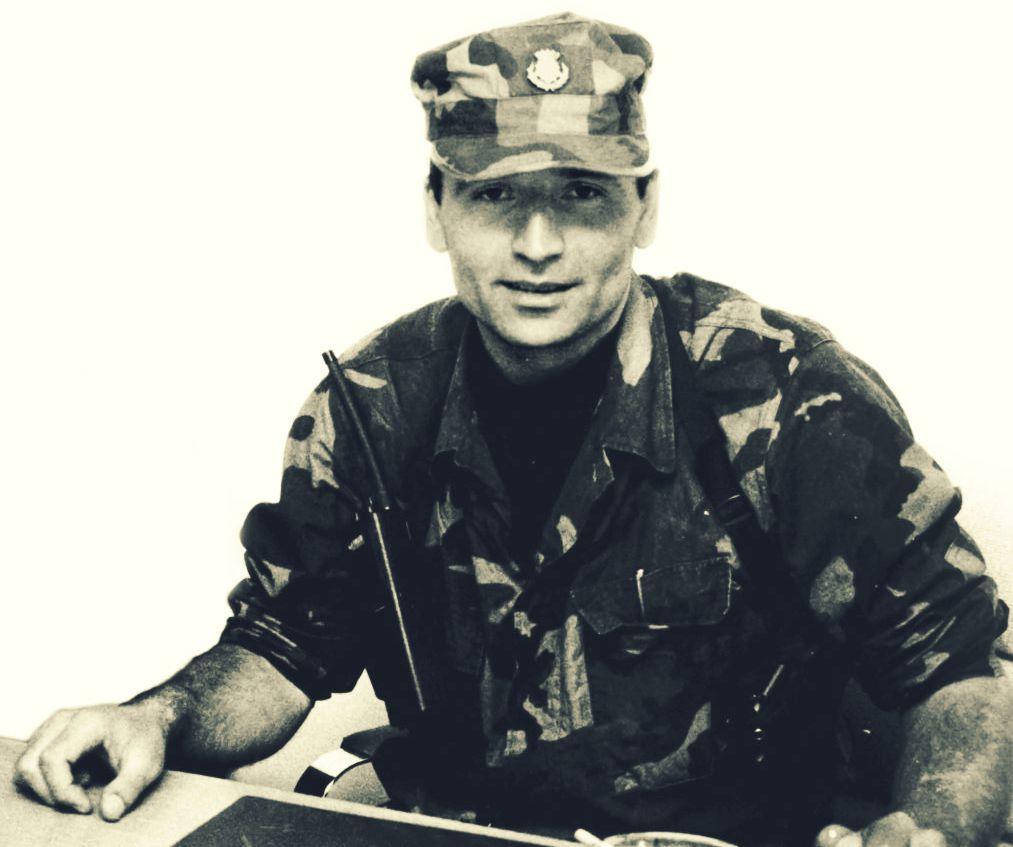 Ivan Grbavac Kobra, zapovjednik Vojne policije