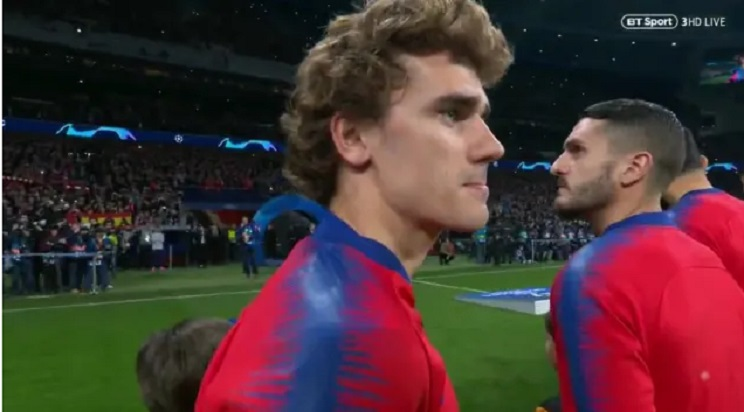 VIDEO: Zbog Luke Modrića Griezmann okrenuo leđa himni