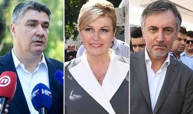 NOVE ANKETA: Kolinda vodeća, Zoki i Škoro rastu, bit će napeto u drugom krugu