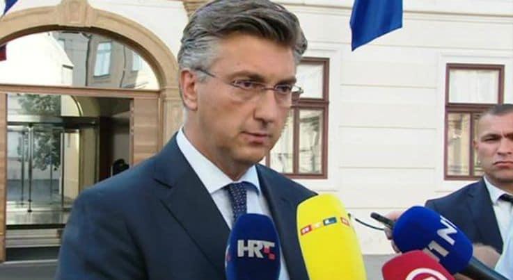 Plenković: Milanović ima kompleks poraza pa izmišlja da sam trebao ući u SDP