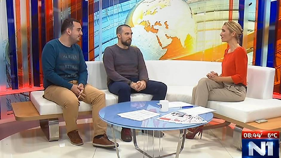 Bivši vođa studentske pobune – danas novinar Rašetina Expressa