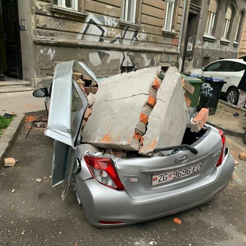 Dva Potresa Uzdrmala Zagreb Katedrala Jako Ostecena