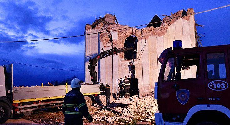 Na fotografiji: srušena crkva u selu Žažina Ronald Goršić/Cropix