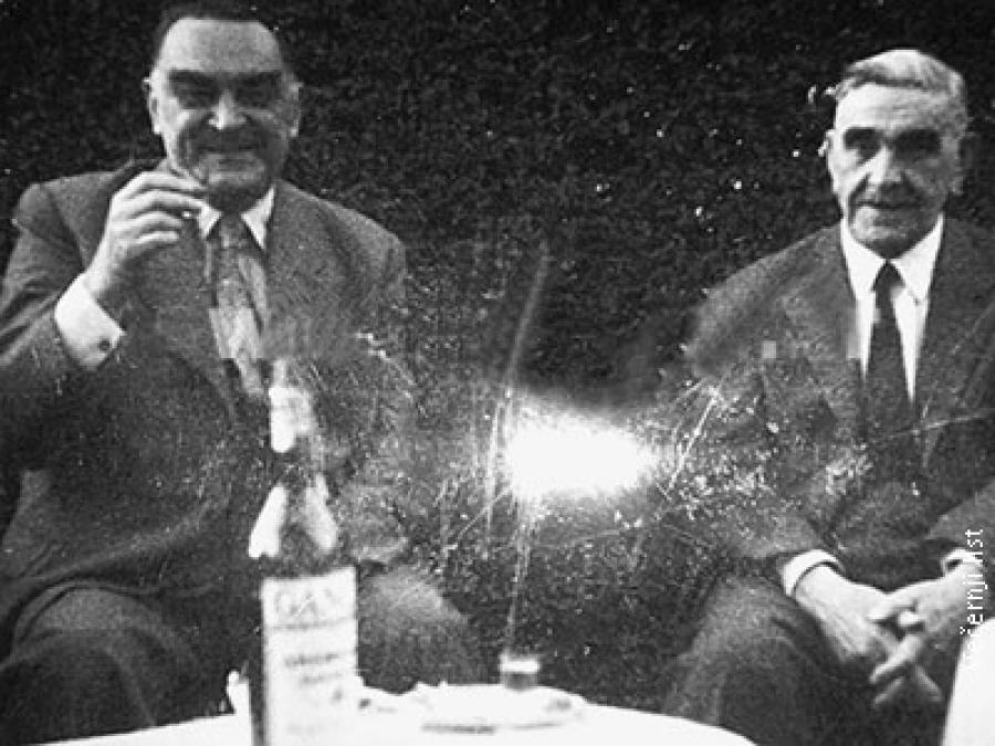 Stojadinović i Pavelić u Benos Airesu 1954. godine