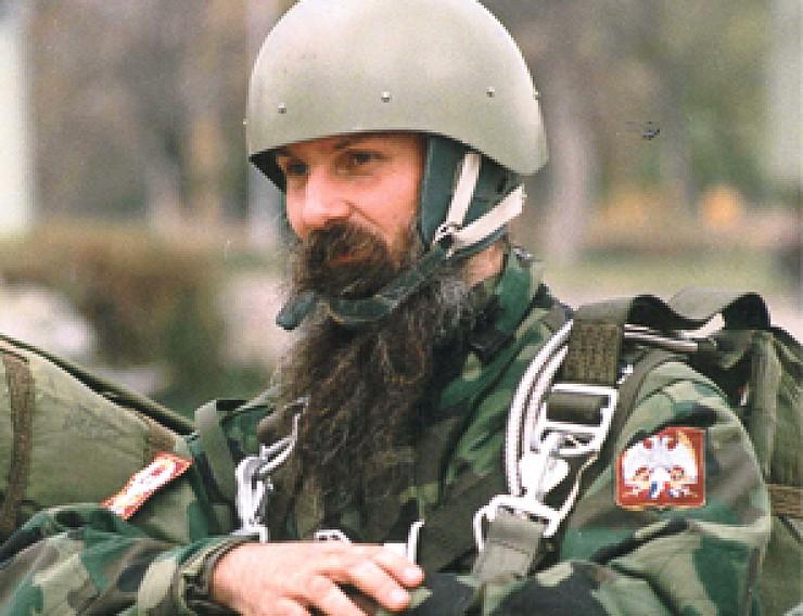 Jovan Ćulibrk u odori 63. padobranske brigade