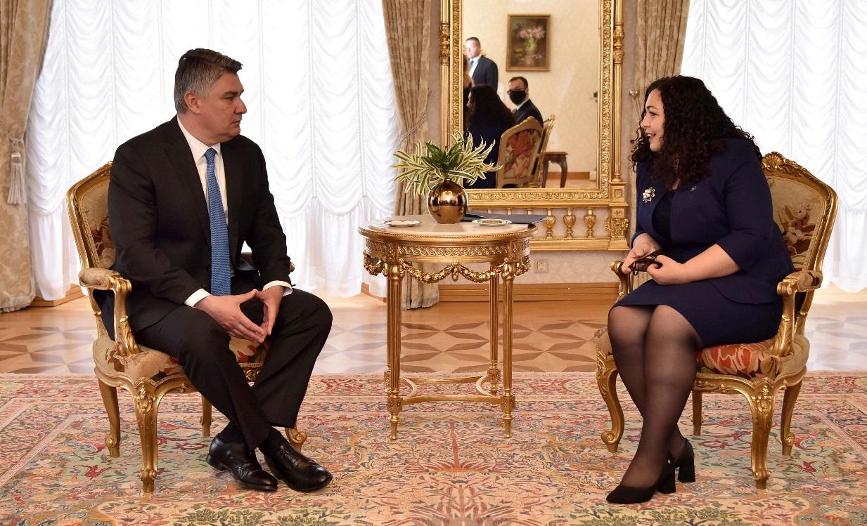 Milanović s predsjednicom Kosova Vjosom Osmani