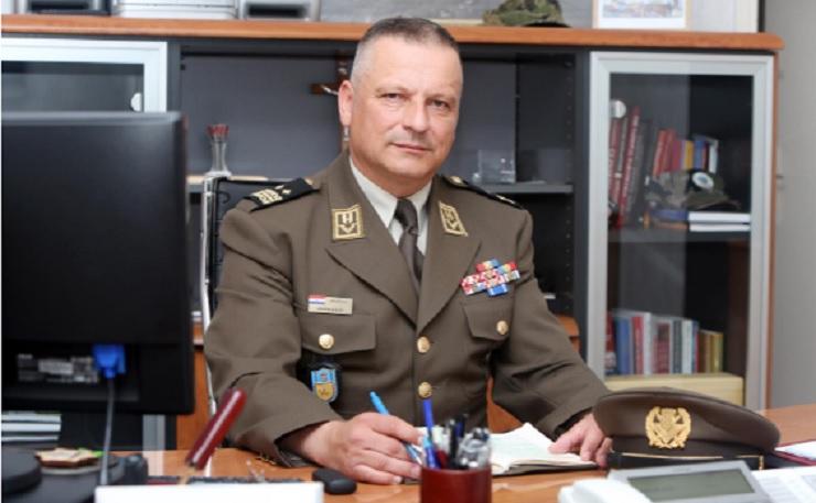 Zamjenik načelnika Glavnog stožera general pukovnik Siniša Jurković (foto: Večernji list).