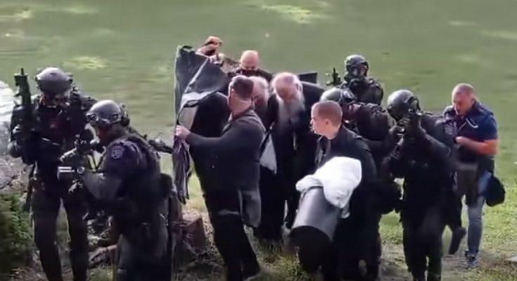 DESANT NA CETINJE! Porfirija čuvalo 8 snajperista s neprobojnom dekom -  video