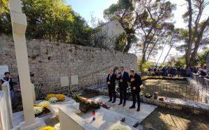 Na otoku Daksi kod Dubrovnika odana počast za 53 žrtve koje su ubili partizani